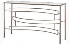 Eilinora Silver Console Table