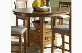 Santa Rosa Extendable Pedestal Dining Table
