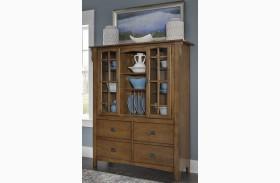 Santa Rosa Brown Display Cabinet