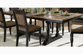 Grisoni Rectangular Extendable Dining Table