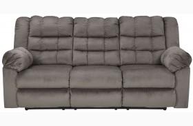Mort Charcoal Reclining Sofa