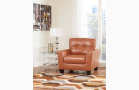 Paulie DuraBlend Orange Chair
