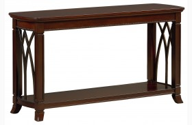 Abbey Henna Cherry Sofa Table