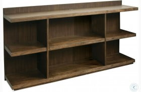 Perspectives Brushed Acacia Bookcase