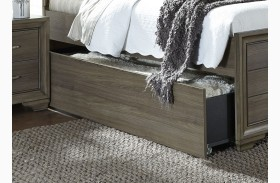 Hartly Gray Wash Twin Trundle
