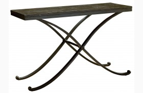 Santiago Stone Top Sofa Table