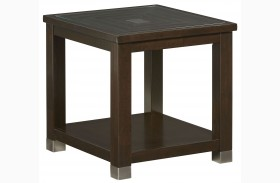 Colton Brown End Table