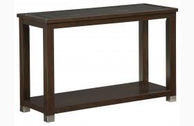 Colton Brown Sofa Table