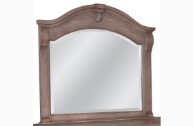Heirloom Pewter Landscape Mirror