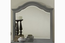 French Market Zinc Youth Landscape Mirror