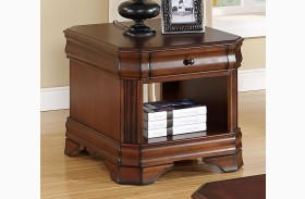 Sheridan Burnished Cherry End Table