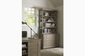 Barton Creek Driftwood Patina Johnson File Chest With Deck