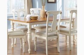 Ocean Isle Extendable Rectangular Leg Table