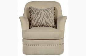Cotswold Amanda Ivory Swivel Chair