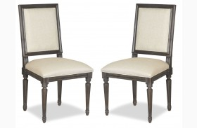 Curated Berkeley3 Brownstone Bergere Chair Set of 2
