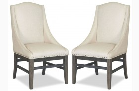 Curated Berkeley3 Brownstone Urban Arm Chair Set of 2