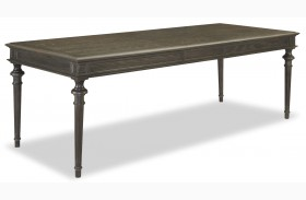Curated Berkeley3 Brownstone Tribecca Extendable Leg Table
