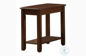 Ballwin Brown Chairside Table