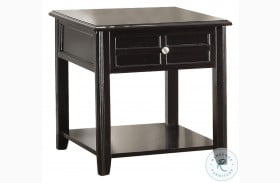 Carrier Brown End Table