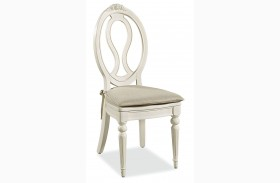 Bellamy Smartstuff Daisy White Chair with Storage Seat