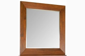 Urban Craftsmen Square Dresser Mirror