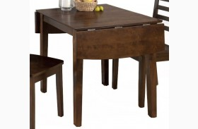 Taylor Cherry Extendable Drop-Leaf Dining Table