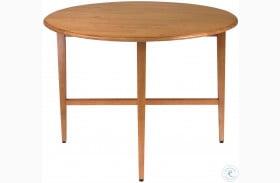 "Hannah Round 42"" Extendable Double Drop Leaf Gate Leg Dining Table"