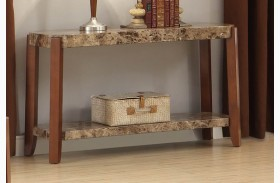 Indra Faux Marble Sofa Table
