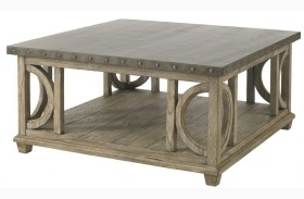 Twilight Bay Antique Linen Wyatt Cocktail Table