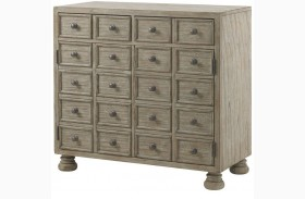 Twilight Bay Antique Linen Halsey Bunching Chest