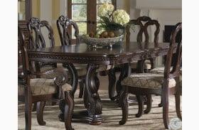 San Marino Extendable Pedestal Dining Table