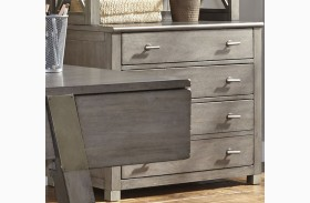 Moss Creek Gray File Cabinet