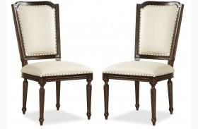 Proximity Flat cut Side Chair Set of 2