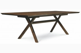 Kateri Extendable Rectangular Trestle Dining Table