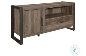 """Dogue Brown And Gunmetal 51"""" TV Stand"""