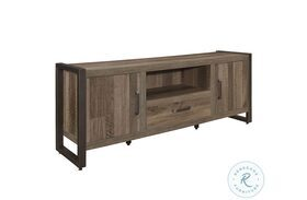 """Dogue Brown And Gunmetal 63"""" TV Stand"""