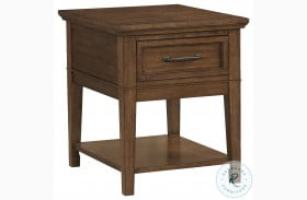 Whitley Walnut End Table