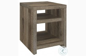 Danio Rustic Natural End Table