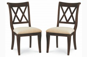 Thatcher X Back Side Chair Set of 2