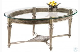 Galloway Oval Cocktail Table