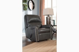 Lottie DuraBlend Slate Rocker Recliner