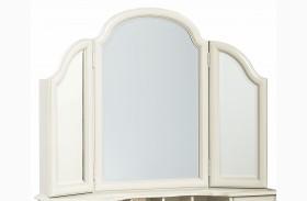 Inspirations Seashell White Vanity Mirror