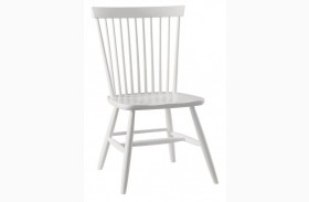 French Market Soft White Desk Chair
