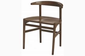 Mila Dark Walnut Desk Chair