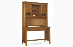 Bryce Canyon Desk With Hutch