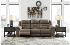 Stoneland Fossil Power Reclining Sofa