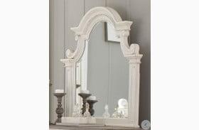 Baylesford Antique White Mirror