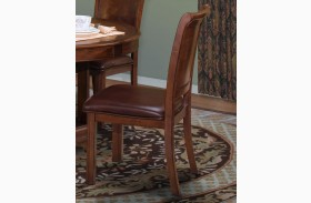 Sheridan Burnished Cherry Side Chair Set of 2