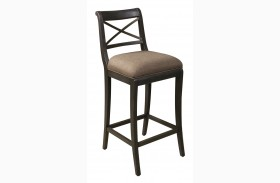 Vintage Tempo Unique Charcoal Bar Stool