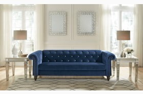 Malchin Blue Sofa